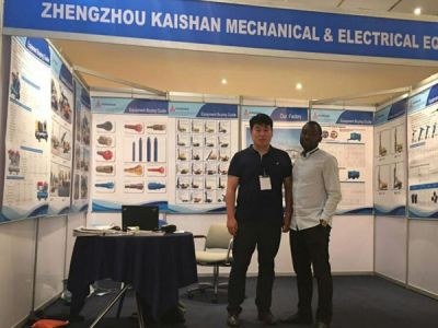 Kaishan Mechanical&Electrical Equipment Co.,LTD take participate in the international exhibition